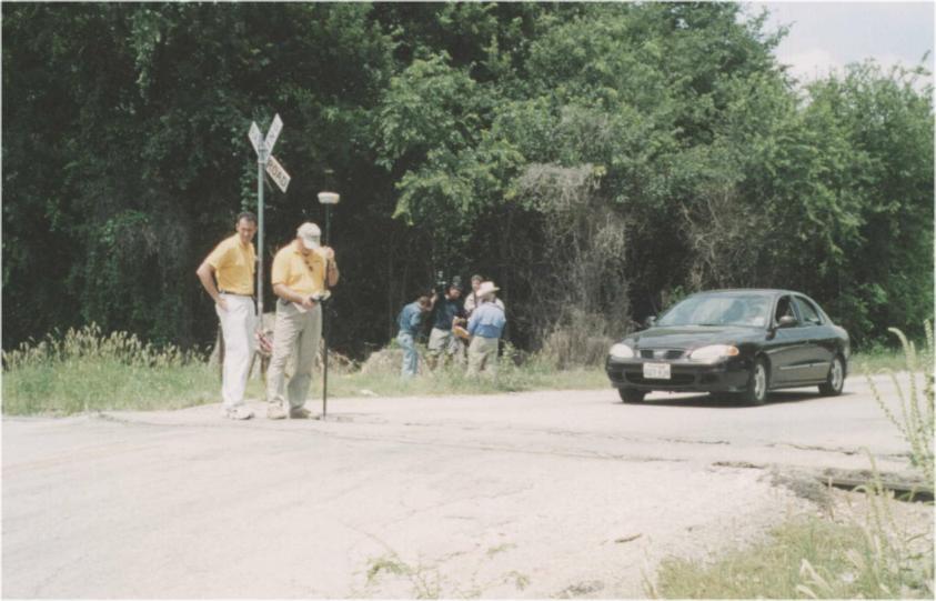 San Antonio haunted railroad tracks - YouTube